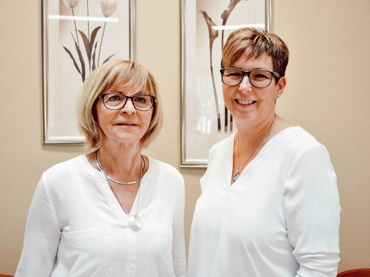 Mitarbeiterinnen der Thomas Stockinger GmbH